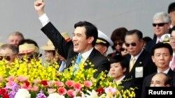 2013年10月10日台湾总统马英九发表国庆演说