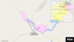 Torkham, perbatasan antara Afghanistan dan Pakistan.