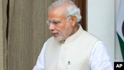 Ông Modi nói hai thỏa thuận này sẽ làm cho những mối quan hệ quốc phòng giữa hai nước sâu rộng thêm.