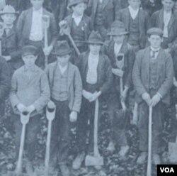 Prvi studenti na koledžu Berea su bili djeca siromašnih zemljoradnika