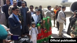President Ghani travel to Helmand