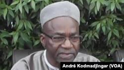 Saleh Kebzabo, chef de file de l'opposition tchadienne et député à l'assemblée nationale, le 21 juin 2017. (VOA/André Kodmadjingar)