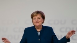 Angela Merkel ကိုအစားထိုးမယ္႔ CDU ပါတီ ေခါင္းေဆာင္သစ္ ေရြးၿပီ