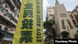 香港和平占中就民间政改方案进行全民投票(和平占中网站)