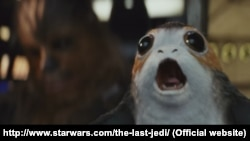 """Porg"" ขวัญใจตัวใหม่ในภาพยนตร์ Star Wars: The Last Jedi"