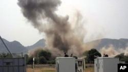 周二在南科尔多凡州的联合国驻地发生巨大爆炸