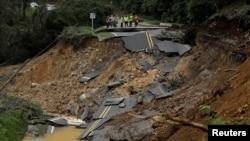 Kosta Rika'da da acil durum yetkilileri, Nate'in neden olduğu şiddetli yağış nedeniyle ikisi çocuk 8 kişinin öldüğünü belirtti