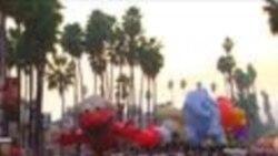 Санта-Клаус прибыл в Голливуд