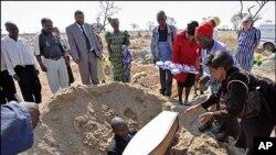 Κηδεία θύματος του AIDS