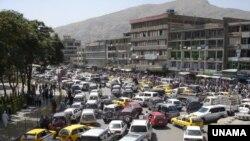 اکنون به شمول کابل در اکثر شهرهای افغانستان شبکه منظم ترانسپورت شهری وجود ندارد