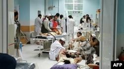 بمباردمان شفاخانۀ MSF در شهر کندز سبب کشته شدن ۲۲ نفر و زخمی شدن ۳۷ نفر دیگر شد.