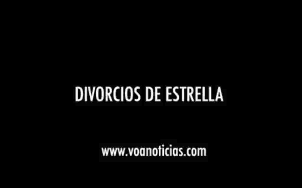 Divorcios de estrellas
