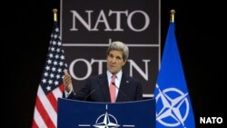 جان کری، وزیر خارجه ایالات متحده در نشست ناتو