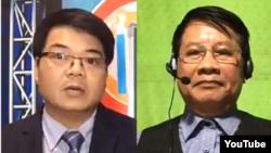Ông Lê Trọng Hùng và ông Trần Quốc Khánh. Photo YouTube CHTV Vietnam