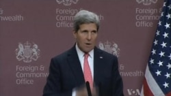 US Secretary of State Pushes Syria Talks