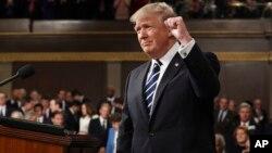 El presidente Donald Trump dedicará parte importante de su discurso al tema migratorio.