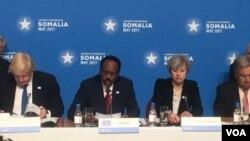 Kora addunyaa ka Somaalee gargaarutti Londonitti taahuutti jira
