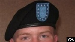 Informan WikiLeaks, Bradley Manning, yang kini meringkuk dalam tahanan marinir di Quantico, Virginia.