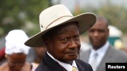 Yoweri Museveni, le président de l'Ouganda