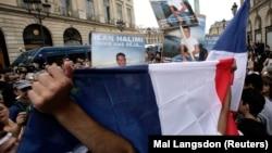 Manifestation de la communauté juive à l'occasion du procès de Youssouf Fofana à paris le 13 novembre 2009.