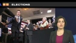 VOA60 Elections- Romney wins Michigan and Arizona