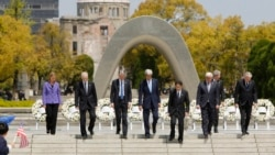 Kerry at G7 Summit in Japan