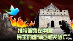 时事大家谈:推特革命在中国:民主的虚像还是突破口?