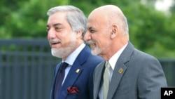 Prezident Ashraf G'ani va Bosh vazir Abdulla Abdulla