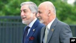 غنی و عبدالله در این اوآخر از اختلافات سیاسی شان هم حرف زده اند