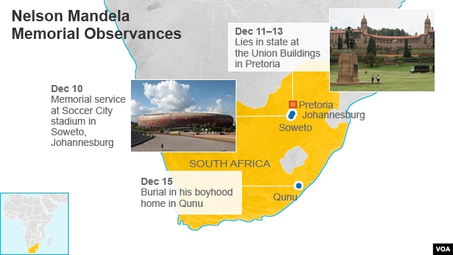 Nelson Mandela Memorial Observances