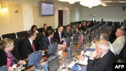 Участники программы ACYPL на встрече с членами Совета Федерации