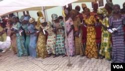 Wasu 'yan matan Chibok da aka sako