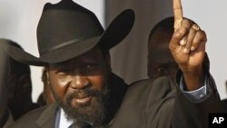 南蘇丹總統基爾(資料照片)