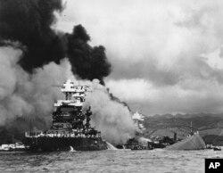 EE.UU. recuerda el viernes 7 de diviembre de 2018 a los 2.403 militares y civiles muertos en el ataque japonés en Pearl Harbor hace 77 años.