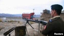 襲擊發生後巴基斯坦士兵加強戒備