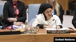 Razia Sultana at UN
