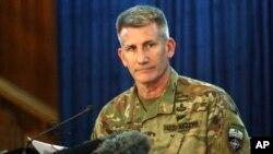 جان نیکلسن، فرماندۀ نیرو های ناتو در افغانستان