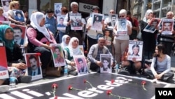 Families of Kurdish victims