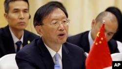 中國負責外交事務的國務委員楊潔篪 (資料照片)