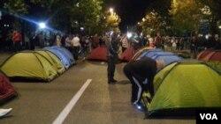 Podgorica:Protest opozicije