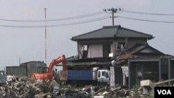 Gempa hari Minggu (31/7) mengguncang kawasan yang belum lama terkena serangan gempa dahsyat dan tsunami.