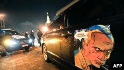 Автопробег в поддержку Владимира Путина