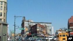 纽约市的布朗克斯区