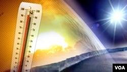 """Tingkat pemanasan global membahayakan jika mencapai """"batas aman"""" yang diakui internasional sebesar 2 derajat Celcius (foto: ilustrasi)."""