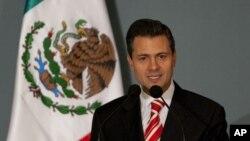 President terpilih Meksiko, Enrique Pena Nieto akan dilantik hari ini, Sabtu (1/12), yang menandai kembali berkuasannya Partai Revolusioner (PRI) dalam pemerintahan Meksiko.