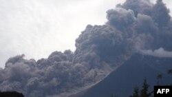 Erupcija vulkana Fuego u Gvatemali