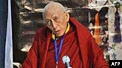 Thủ tướng của chính phủ Tây Tạng lưu vong Samdhong Rinpoche
