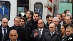 Francuski predsjednik na licu mjesta