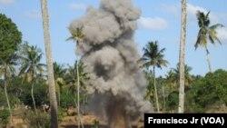 Desminagem em Inhambane,Moçambique