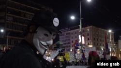 """Protest """"1 od 5 miliona"""" u Beogradu, 30. juna 2019."""